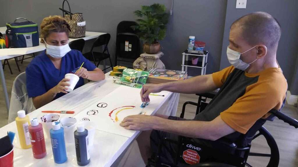 APD Group Homes Provide Companion Services for adults with developmental disabilities